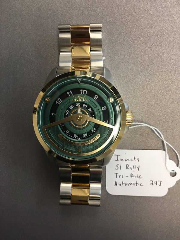Invicta S1 Rally Tri-Disc Automatic 27071